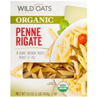 Wild Oats Organic Penne Rigate Pasta, 16 oz Food Product Image