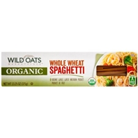 Wild Oats Organic Whole Wheat Spaghetti Pasta, 13.25 oz Food Product Image