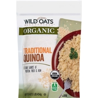 Wild Oats Marketplace Organic Traditional Quinoa, 16 oz Food Product Image
