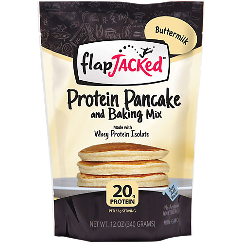 Flapjacked Buttermilk Protein Pancake Mix Food Product Image