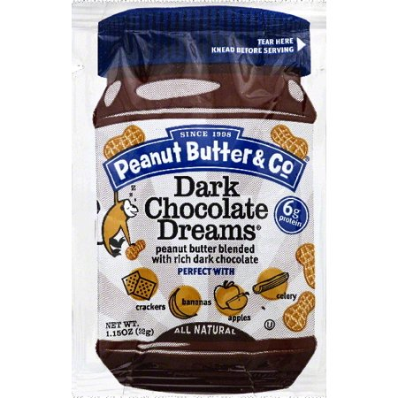 Peanut Butter & Co Peanut Butter Dark Chocolate Dreams Food Product Image
