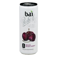 Bai 5 Bubbles Spartkling Antioxidant Infusion Bolivia Black Cherry Food Product Image