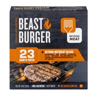 Beyond Meat 100% Plant Protein Beast Burger Patties 1/4 LB - 2 CT Food Product Image