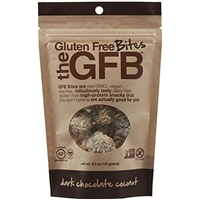Gfb Gluten Free Bites Gfb Gluten Free Bites, Dark Chocolate Coconut Food Product Image