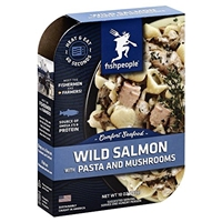 Fishpeople Wild Salmon With Pasta And Mushrooms Food Product Image
