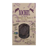 Xochitl Organic Blue Corn Chips Mexican Style Food Product Image