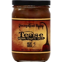 Deception Salsa Salsa Medium Tomato, Tease Food Product Image