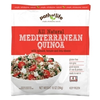 Path Of Life Quinoa Mediterranean, With Spinach, Tomato And Feta Cheese Food Product Image
