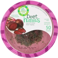 Eat Well Hummus Beet Food Product Image