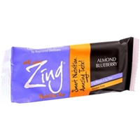 Zing Almond Blueberry Bar Food Product Image
