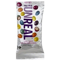 Unreal Peanuts Milk Chocolate, Candy Coated Food Product Image