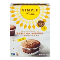 Simple Mills Banana Muffin Almond Flour Mix Food Product Image