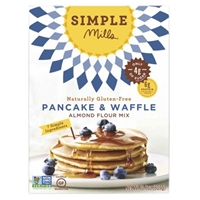 Simple Mills Almond Flour Mix Pancake & Waffle Food Product Image