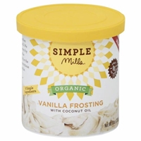 Simple Mills Organic Frosting  Vanilla Food Product Image
