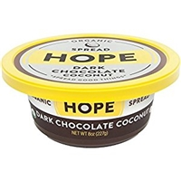 Hope Foods Organic Dark Chocolate Coconut Spread, 8 Oz Food Product Image