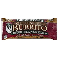 Glutenfreeda Gluten-Free Burrito Chipotle Chicken & Black Bean Food Product Image