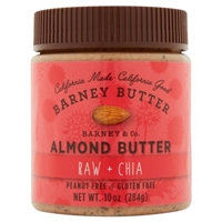 Barney & Co. Sprouted Almonds & Chia Butter Peanut Free Gluten Free Food Product Image