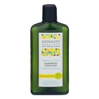 Andalou Naturals Sunflower And Citrus Shine Shampoo Food Product Image