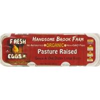 Handsome Brook Farm Pasture Raised Organic Eggs Food Product Image