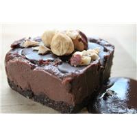 Cheezecake, Chocolate, Vegan Food Product Image