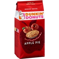 Dunkin' Donuts Cafe Apple Pie Ground Coffee Food Product Image