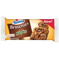 Hostess Brownies Made with Milky Way, 2 count, 3.03 oz Food Product Image