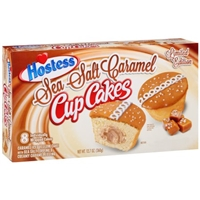 Hostess Cupcakes Sea Salt Caramel - 8 CT Food Product Image