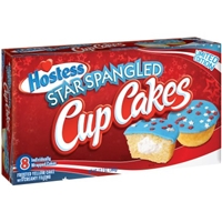 Hostess Star Spangled Cup Cakes - 8 CT Food Product Image