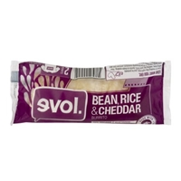 evol. Burrito Bean, Rice & Cheddar Food Product Image