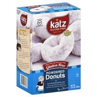 Katz Donuts Gluten-Free, Powdered Food Product Image